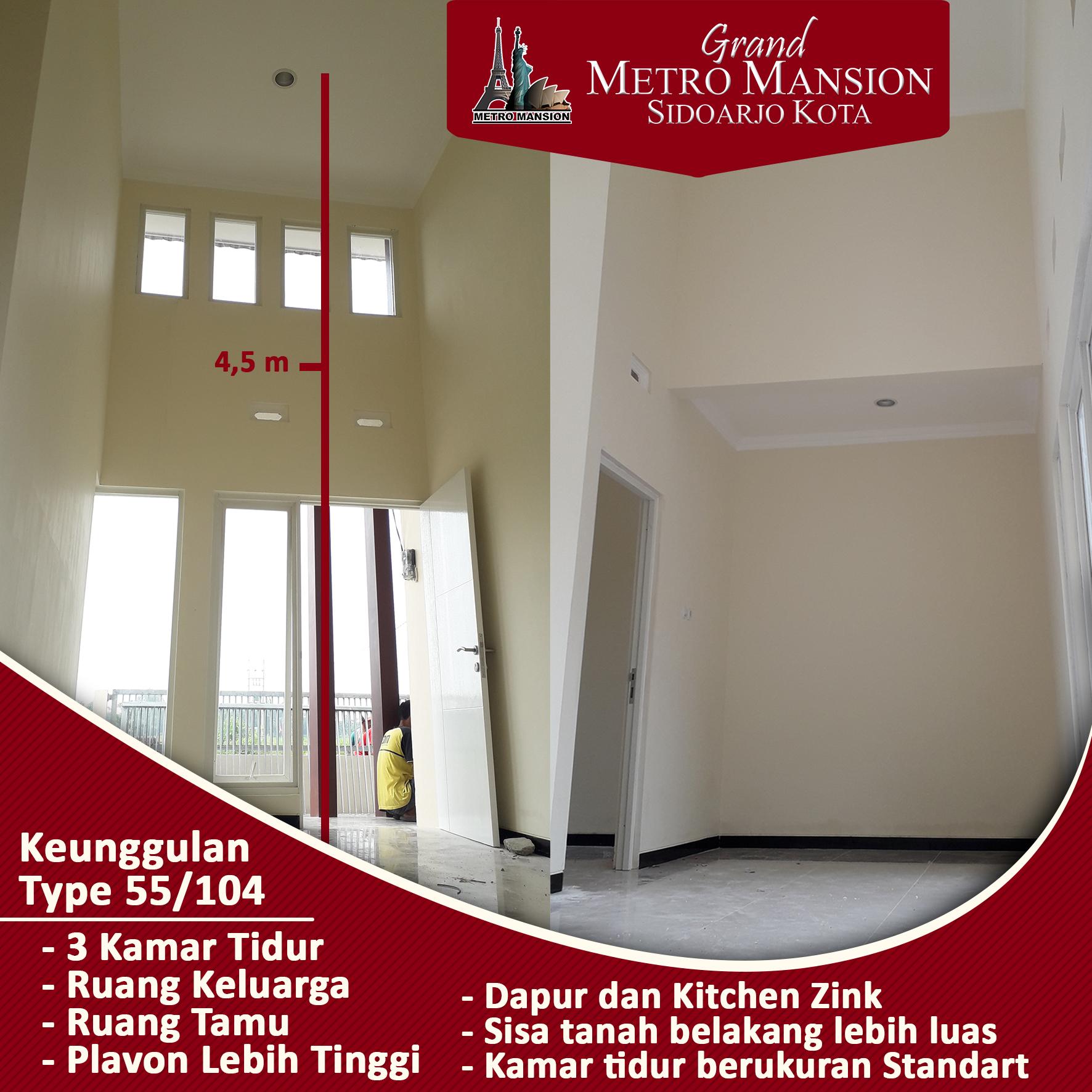 Metro Mansion Sidoarjo